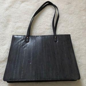 Handbags - Les Sands Eel Skin Shoulder Bag